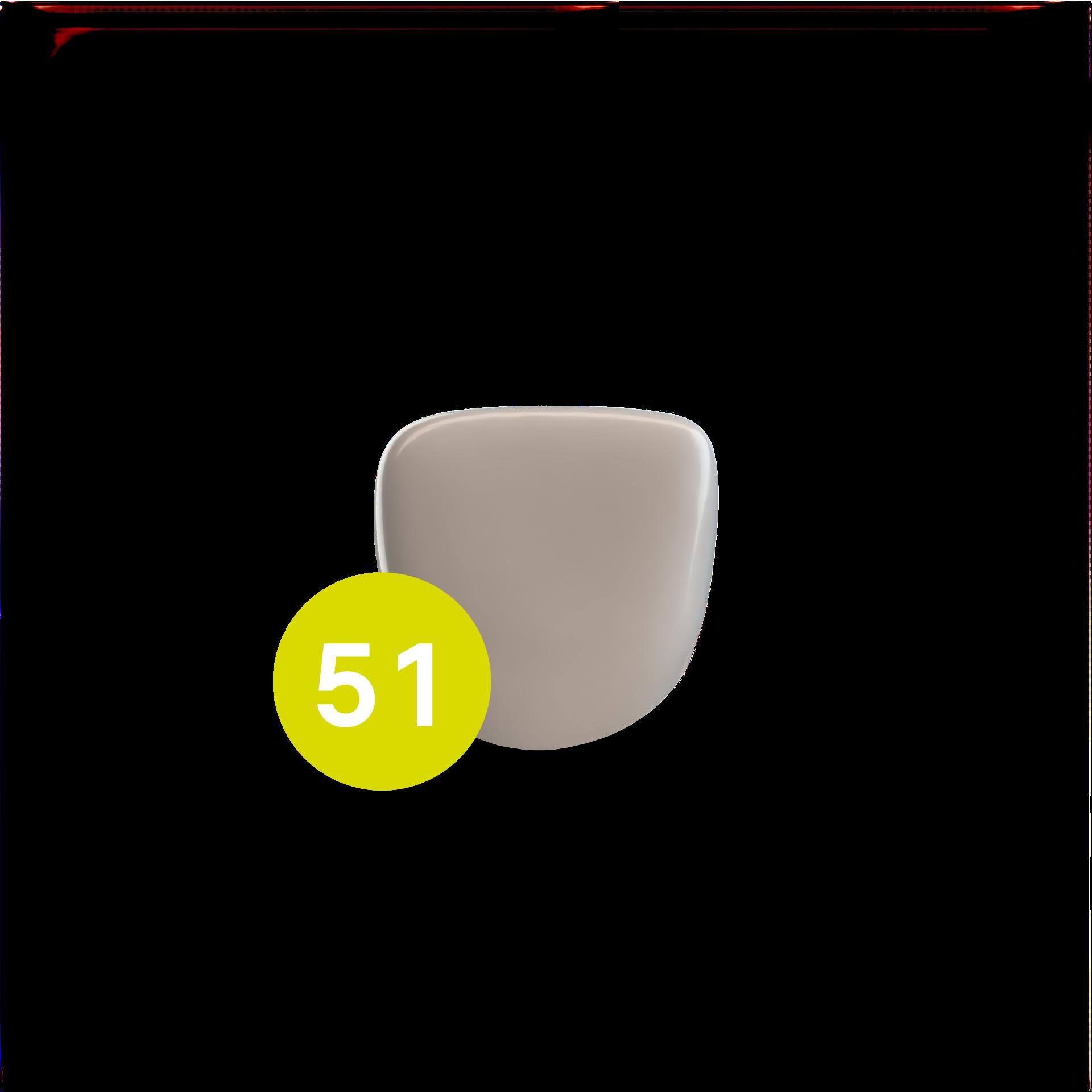 Central Incisor Upper URA (51)